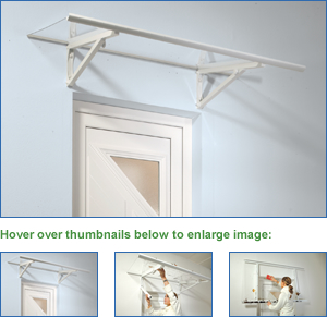 Fold & Clean Door Canopy